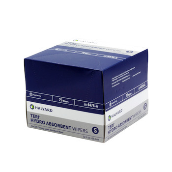 Halyard TERI HYDROKNIT Wipers Small 6 Packs x 75 Wipers (4476)