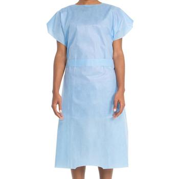 Halyard Patient Gown Universal Short Sleeve Box of 100 (6816)