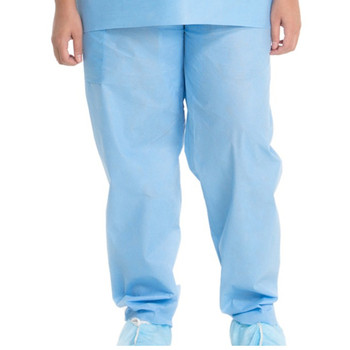 Halyard Scrub Pants Box of 48 (Medium, Large, X-Large)