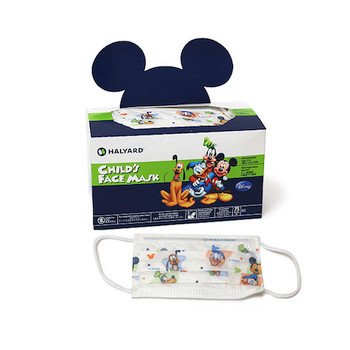 Halyard Disney Child's Face Mask Pleat-Style with Earloops (47127)