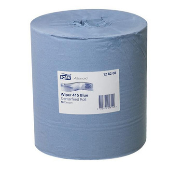 Tork Wiping Paper Centerfeed Roll M2 System 6 Rolls (128208)