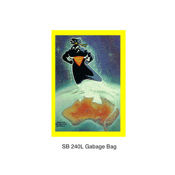 Super Tough Super Black 240L Garbage Bag 100 Bags