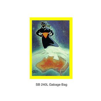 Super Tough Super Black 240L Garbage Bag 100 Bags