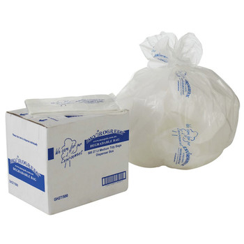 Degradable Envirogreen 27L Clear Tidy Garbage Bags 500 Bags (GH27/500)