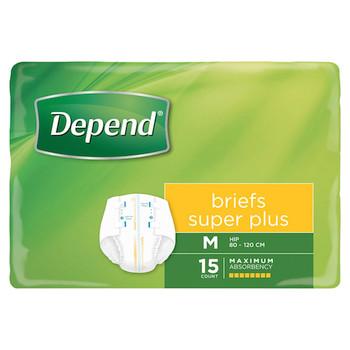 Depend® Briefs Super Plus Medium (17410)