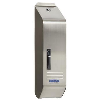 Kimberly Clark Stainless Steel Interleaved Toilet Tissue Dispenser (4405)