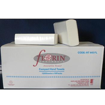 Compact Hand Towels TAD Executive 120 Sheets x 18 Packs (HT445FL)