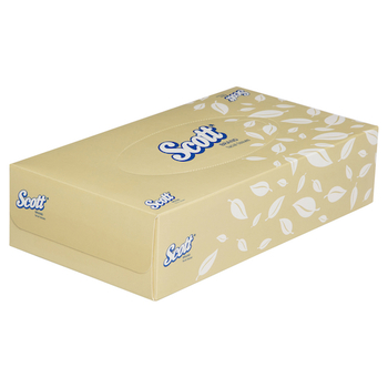 Scott Facial Tissue 2 Ply 48 Packs x 100 Sheets (4725)