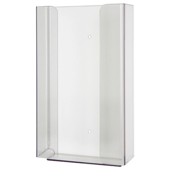 Kimberly-Clark Glove Dispenser, Single Clear acrylic (98111) | Kimberly Clark Professional