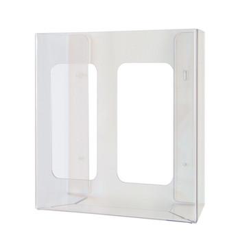 Kimberly-Clark Glove Dispenser, Double Clear acrylic (98112) | Kimberly Clark Professional