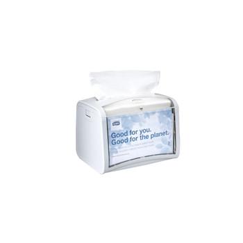Tork® Xpressnap Tabletop Napkin Dispenser White N4 (62340)
