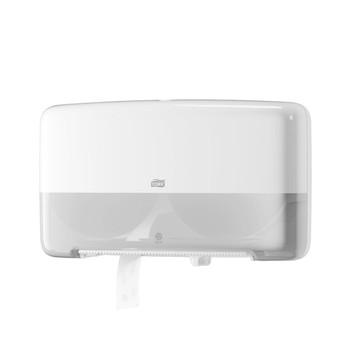 Tork Twin Mini Jumbo Toilet Roll Dispenser T2 System (555500)