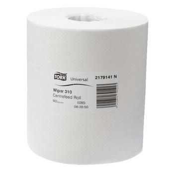 Tork Universal Wiper 310 Centrefeed Roll M2 4 Pack (2179141)