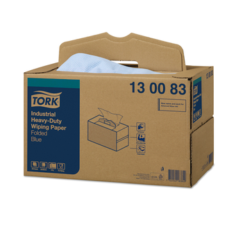 Tork Industrial Heavy-Duty Wiping Paper Handy Box (130083)