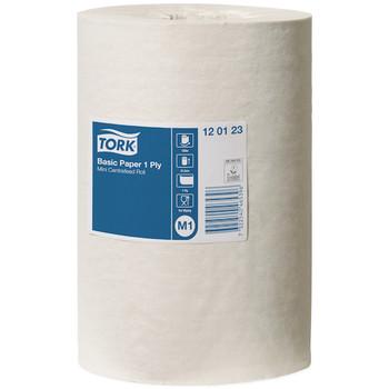 Tork Basic Paper 1ply Mini Centerfeed Roll (120123)