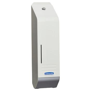 Kimberly Clark White Metal Interleaved Toilet Tissue Dispenser (4404)