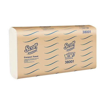 Scott Essential Compact Towel 16 Packs x 110 Towels (38001)