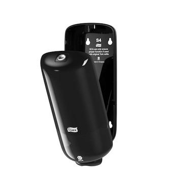Tork® Foam Soap Dispenser S4 System Black (561508) open