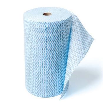 Heavy Duty Anti-Bacterial Wipes Blue Roll (WIPB5030R)