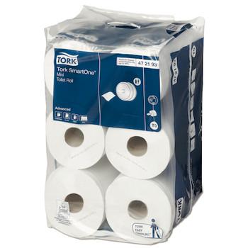 Tork SmartOne Mini Toilet Roll 2Ply T9 System 12 Rolls (472193) Tork Products