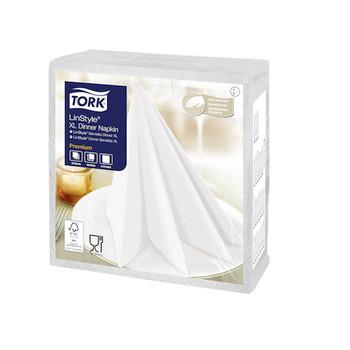 Tork Premium Linstyle® White XL Dinner Napkin (478883)
