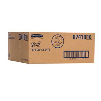 Scott Toilet Seat Covers 24 Packs x 125 Sheets (7410)