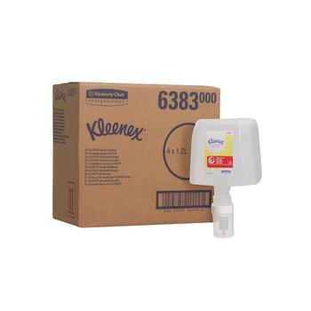 KLEENEX Moisturising Instant Hand Sanitiser 4 x 1.2L (6383)