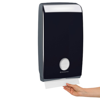 Kimberly Clark Optimum Hand Towel Dispenser Black (70001)