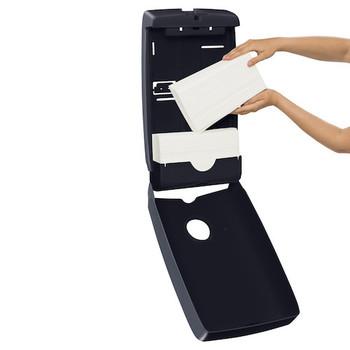 Kimberly Clark Optimum Hand Towel Dispenser Black (70001)