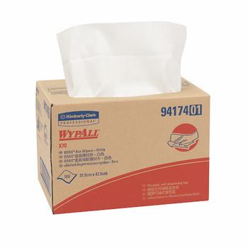 Wypall X70 Brag Box Single Sheet 160 Wipers (94174)