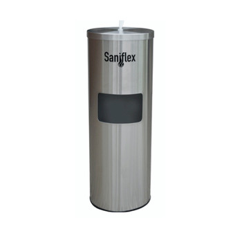 Saniflex Surface Wipe Stainless Steel Dispenser
