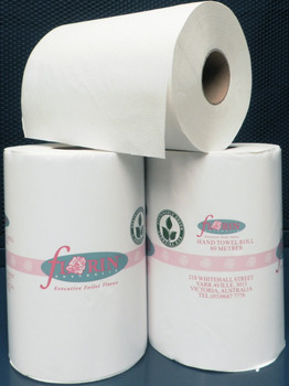 Green Florin Hand Towel Roll 80 Metres x 16 Rolls (GHT80) Florin Products