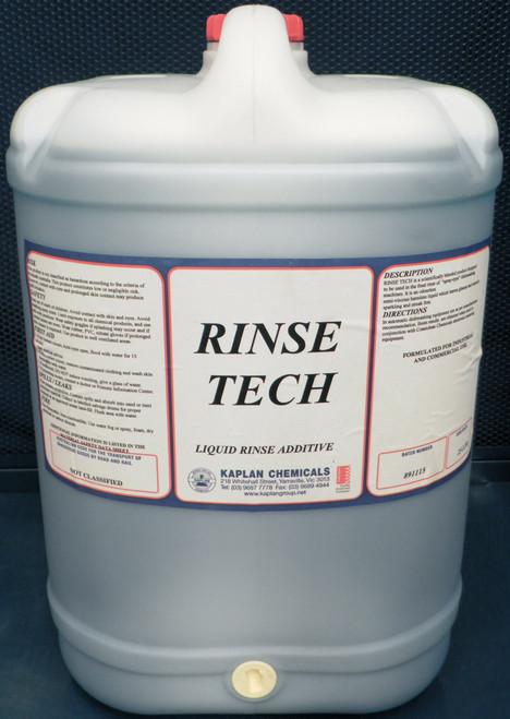 Rinse Tech Liquid Rinse Additive 20 Litres