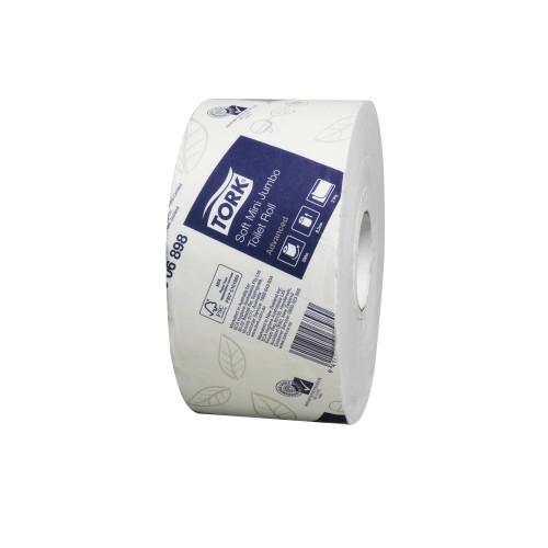 Tork Soft Mini Jumbo Toilet Roll T2 Advanced 12 Rolls (2306898)