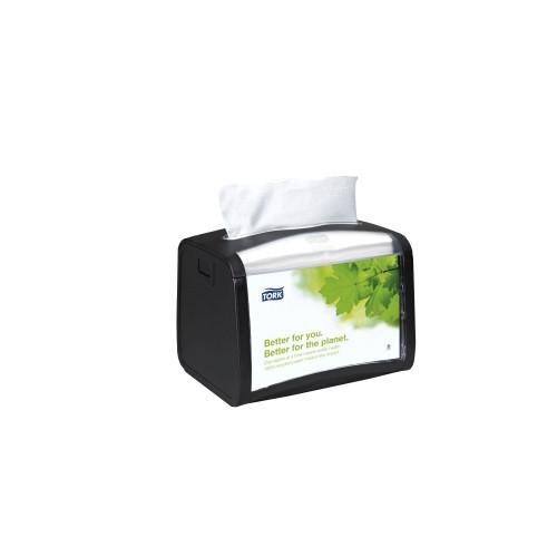Tork® Xpressnap Tabletop Napkin Dispenser Black N4 (62320)