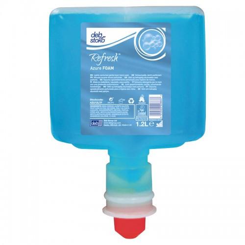 Deb Refresh Azure Foam Wash Touch Free 1.2L (AZU120TF)