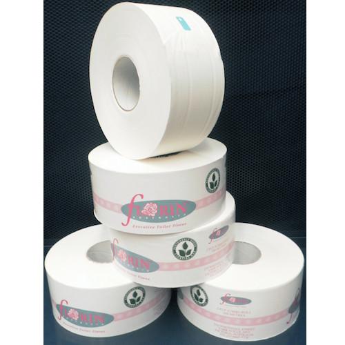 Green Florin Jumbo Roll Toilet Tissue 2 Ply 300 Metres x 8 Rolls (GTR300FL) Florin Products