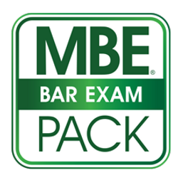 MBE Bar Exam Value Pack logo green