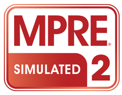 Simulated MPRE 2 logo in red