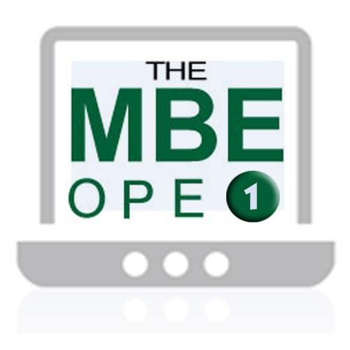 MBE Online Practice Exam 1