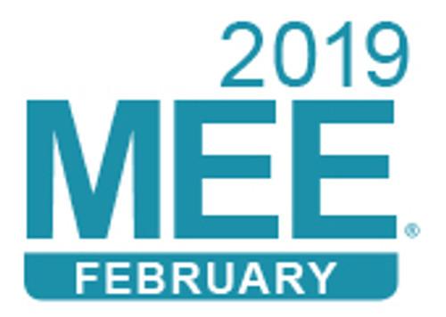 February 2019 MEE logo
