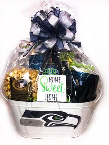Seattle Seahawk Gift Baskets