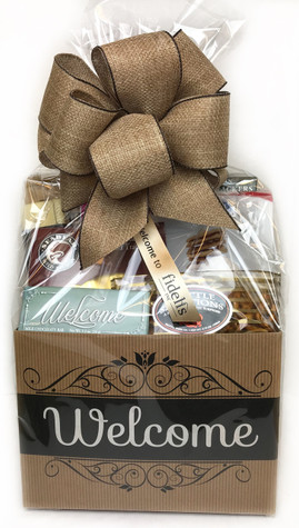 A beautiful gift with personalized ribbon