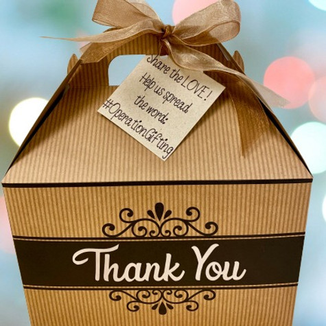 Operation Gifting Small Donation Box