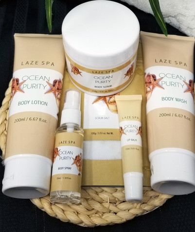 Laze Spa Ocean Purity Gift Set - FREE SHIPPING