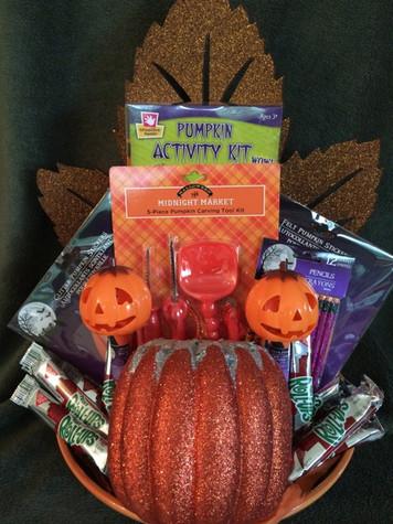 Halloween Activity Basket