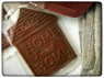 Delicious chocolate Home Sweet Home bars