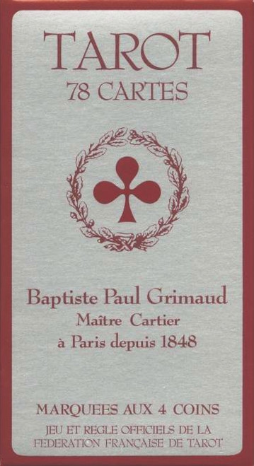 Tarot Grimaud Superfine, Tuck Box