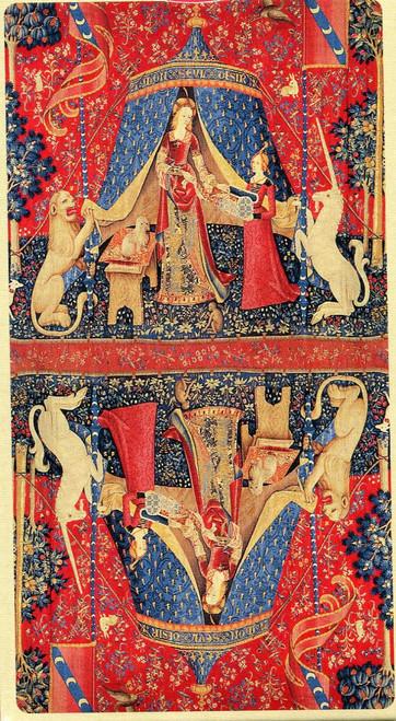 Tarot, La Dame à la Licorne