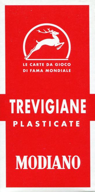 Trevigiane, 54 Cards, No. 20 Back Design